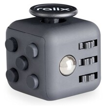 Anxiety Stress Relief Fidget Cube: Calming Toy for Focus, Relaxation, Distraction & Improved Mood - Aids Depression, Worry & Fear - Perfect Gift for Autism, Anger, ADD, ADHD & PTSD