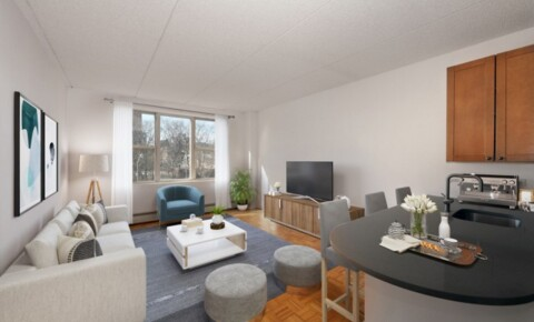 Apartments Near YU TRIBECA'S HOTTEST AREA! Super Spacious 1 Bed Avail Now at Saranac. Landscaped Roof Deck, Drmn, Free Fitness, Garage. NO FEE! for Yeshiva University Students in New York, NY