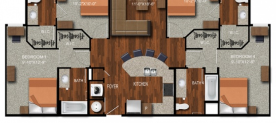 $700 Incentive!!! 1Bedroom Sublease