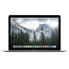 Apple Macbook Retina Display 12 Inch (Full-HD LED Backlit IPS Display, Intel Core M-5Y31 1.1GHz up to 2.4GHz, 8GB RAM, 256GB SSD, Wi-Fi, Bluetooth 4.0, Gray) (Certified Refurbished)