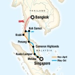Bangkok to Singapore on a Shoestring