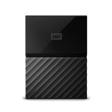 WD 4TB Black USB 3.0 My Passport Portable External Hard Drive (WDBYFT0040BBK-WESN)