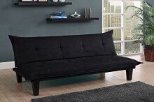 DHP Lodge Futon, Black